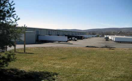 This is a picture of the Old Forge, PA Warehouse of East Coast Logistics and Distribution, Inc.